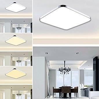 Hengda® 12W LED Moderno Lámpara De Techo LED plafón Regulable Iiluminación Interior Lámpara de salón Pasillo Cocina Dormitorio cocina y cuarto de ...