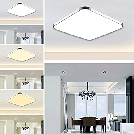 Hengda® 12W LED Moderno Lámpara De Techo LED plafón Regulable ...