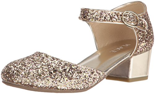The Children's Place Girls' BG Gltr Dress Annie Boot, Metallic, 3 M US Little Kid (Children Dress Shoes compare prices)