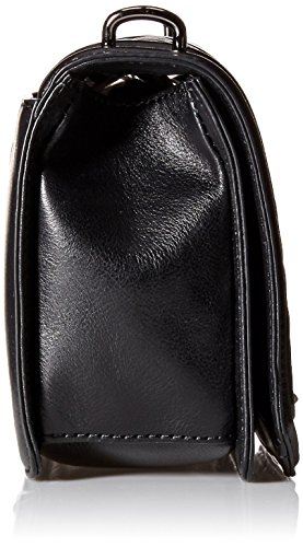 Love Rebecca Crossbody Minkoff Black Leather 8RR5Sqxr