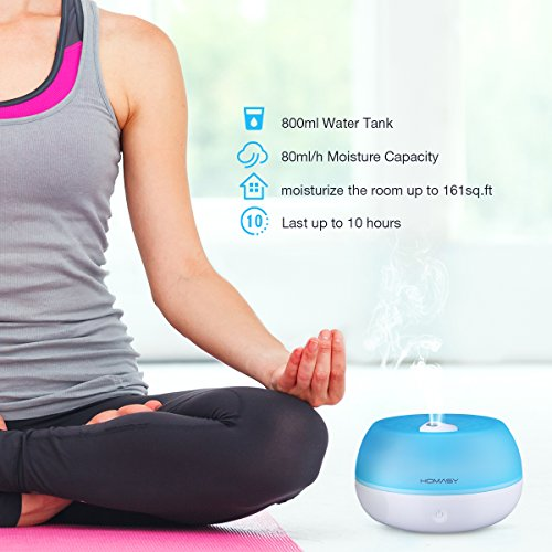Homasy 800ml Ultrasonic Cool Mis...