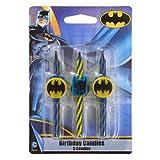 Toys : Batman Birthday Cake Candles - 6 pc