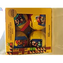 Limited Edition Super Mario Maker 4 Generations of Mario Ornament Set