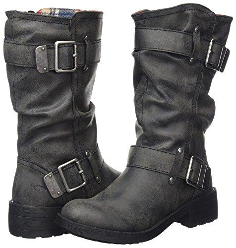 Boots Ag7 Pour black Trumble Biker Femmes Dog Noir Rocket SaqUEpw