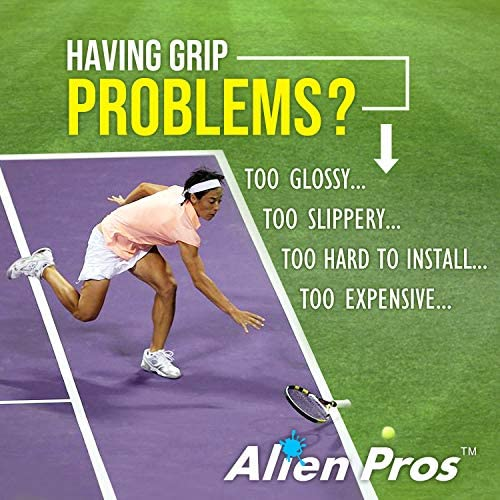 Alien Pros Tennis Racket Grip Tape (6 Grips) – Precut and Light Tac Feel Tennis Grip – Tennis Overgrip Grip Tape Tennis Racket – Wrap Your Racquet for ...