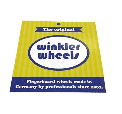 Winkler BBR Fingerboard Wheels - Black