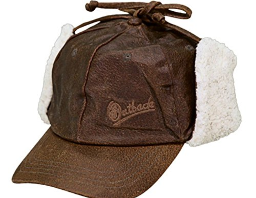 (Outback Trading Leather McKinley Hat)