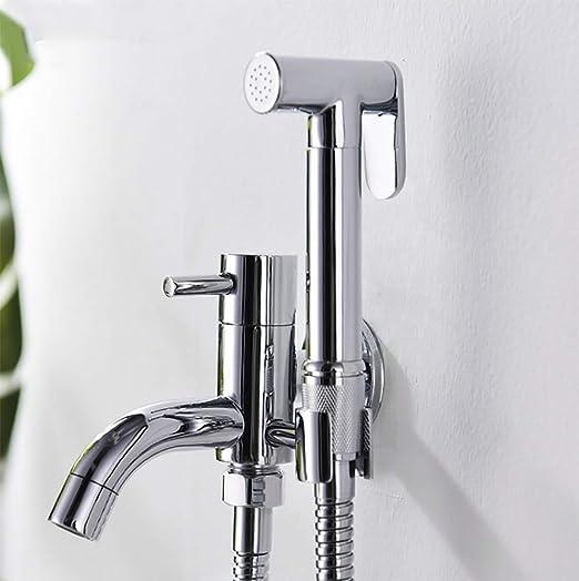 Toilet Brass Hand Held Bidet Spray Shower Head Douche Kit Copper Valve Bathroom Bidet Sprayer Jet Tap Holder Hose Amazon Ca Home Kitchen