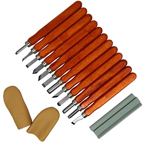 Wood-Carving-Tools-Set-with-Leather-Finger-Guard-Whetstones-Kit-and-Storage-Box-12PCS-Knives-Kit