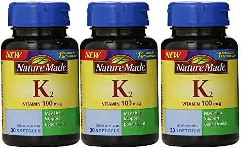 Nature Made Vitamin K2 100 mcg Softgels 30 (3)