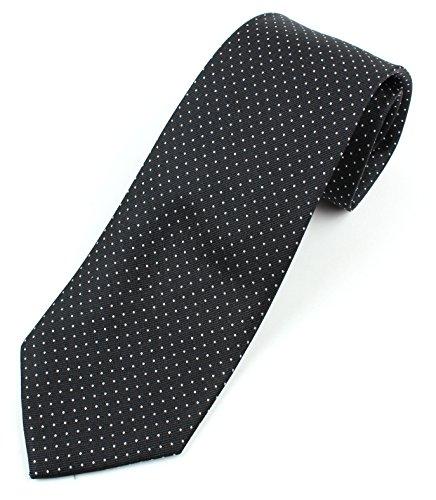 Men's Silk Necktie Tie Micro-Dot Pattern - (Pattern 3 Silk)