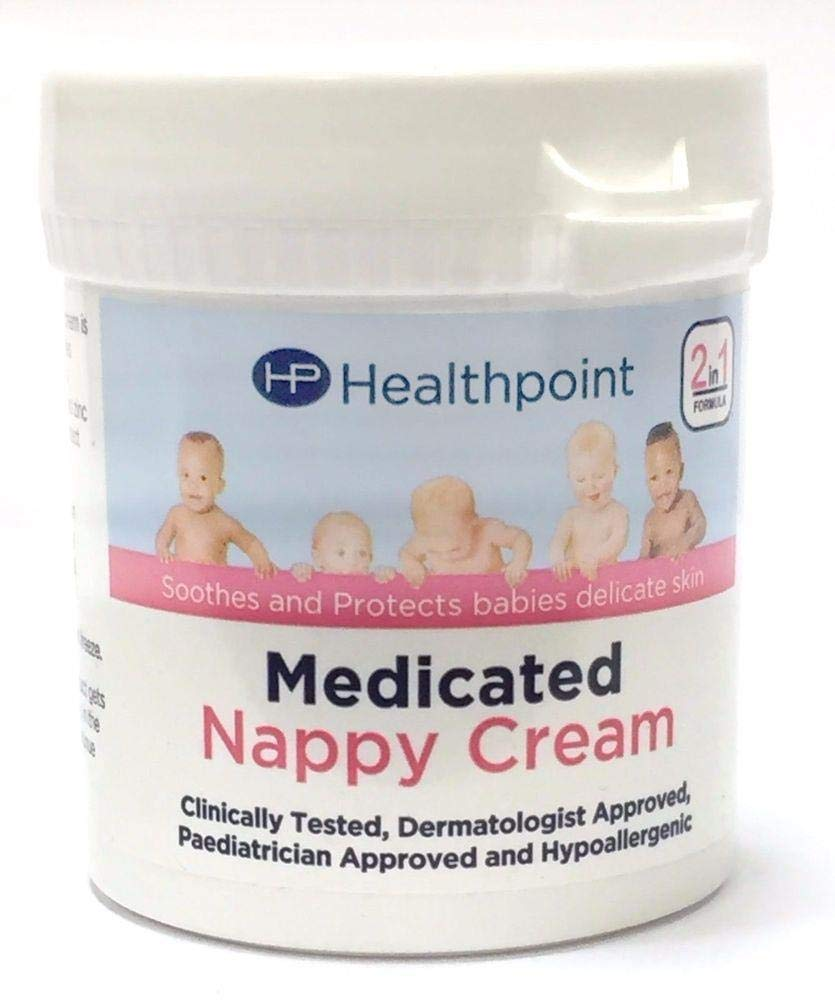 Healthpoint Medicated Nappy Cream 2-in-1 Formula Soothe and Protect Babies Delicate Skin 100g, Pack of 12