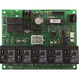 Spa Builders 3-60-0120 Placa de circuito