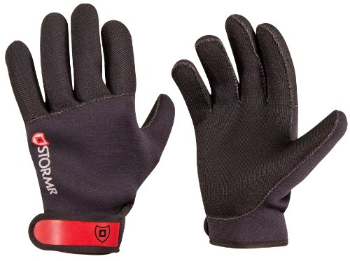 Stormr Strykr Neoprene Glove, Black, X-Large - Fishing, Fly Fishing & Ice Fishing