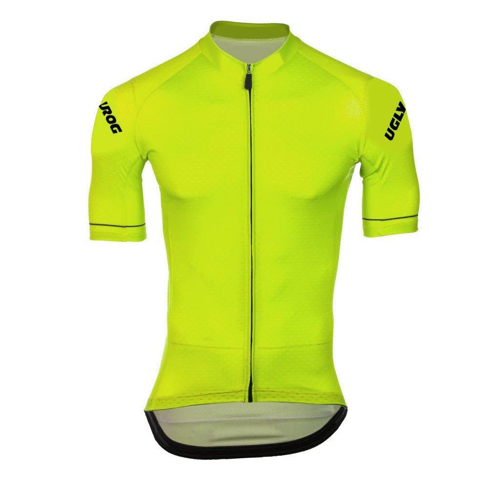 Uglyfrog AT01 2018 New Herren schließen Hülsen Zyklus Jersey Kurzarm Fahrradtrikot Fahrrad Hemd Fahrrad Top Outdoor Sports Radfahren Männer Trikot