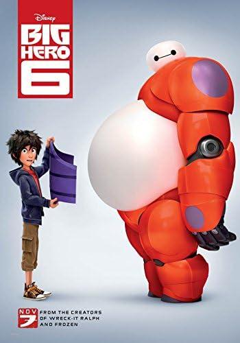 Amazon.com: BIG HERO 6 MOVIE POSTER 2 Sided ORIGINAL FINAL 27x40 ...