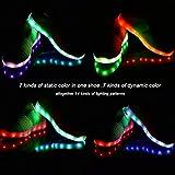 Sudilo Kids LED Light up Shoes USB Charging