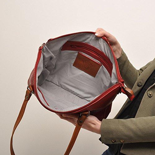 berba Chamonix 103 Besace à courte bandoulière en rouge
