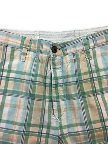 Vintage Shorts In Reversible W32 Size Tailor Cotton Green SqdE4nxwx