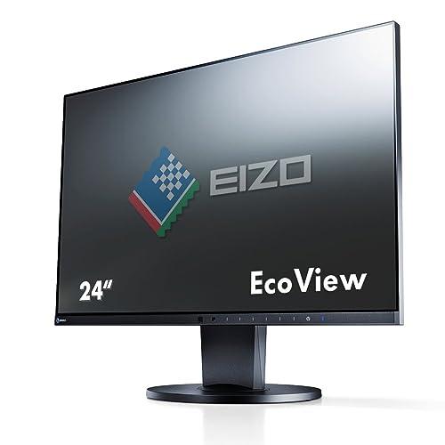 Eizo EV2450-BK, Monitor da 23,8'' (DVI, HDMI, USB 3.0, tempo di reazione 5 ms) nero 60 cm