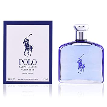 Amazon.com   Ralph Lauren Polo Ultra Blue Men Eau de Toilette Spray, 4.2  Ounce   Beauty f60a1edea7