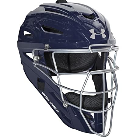 Under Armour Professional Gloss Youth Baseball Catchers Helmet