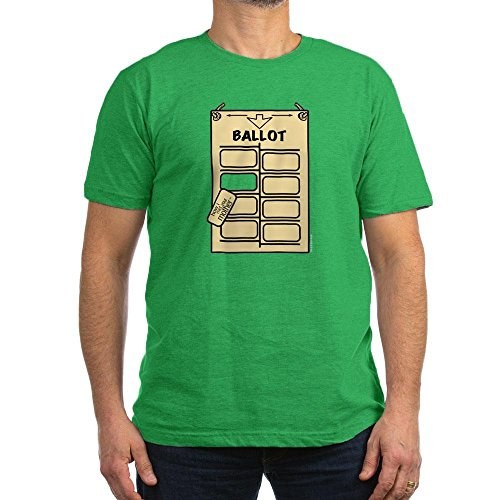 CafePress - HIMYM Hanging Chad Men's Fitted T-Shirt (Dark) - Men's Fitted T-Shirt, Stylish Printed Vintage Fit T-Shirt Kelly Green
