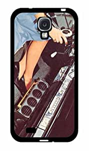 1950s Vintage Car Dashboard - TPU Rubber Silicone Phone Case Back Cover (Samsung Galaxy S4 I9500)