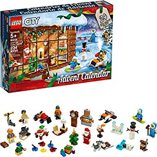 LEGO City Advent Calendar 60235 Building Kit (234 Pieces) (Discontinued by Manufacturer)