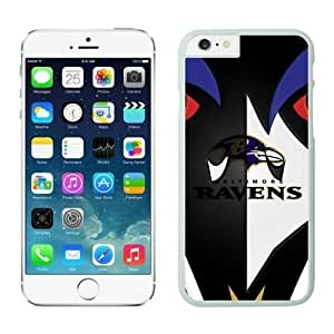 NFL Case Cover For HTC One M8 Baltimore Ravens White Case Cover For HTC One M8 Cell Phone Case ONXTWKHB0438