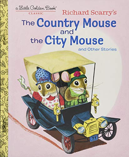 Used, Richard Scarry's The Country Mouse and the City Mouse for sale  Delivered anywhere in USA