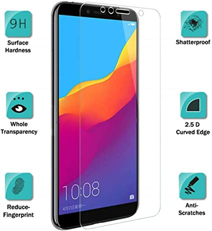 ZHXMI 3 Piezas para Huawei Honor 7A Pro Glass Vidrio Templado en ...