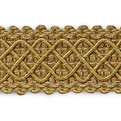 Expo International Jolie Lattice Braid Trim Embellishment, 20-Yard, Gold by Expo International