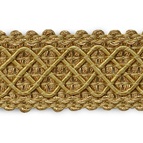 Expo International Jolie Lattice Braid Trim Embellishment, 20-Yard, Gold IR6986GL-20
