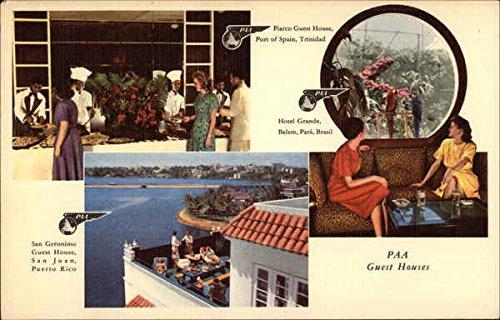 - Vintage Advertising Postcard: Pan American World Airways Advertising