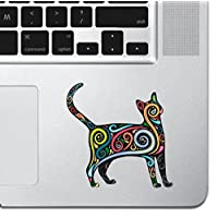 "Cat Art Laptop Sticker Keyboard, Keypad Vinyl Macbook Decal Sticker - Skin Track Pad MacBook Pro Air 13"" 15"" 17"" iPad Laptop Decal iPad Sticker Kitten Sticker Cartoon Sticker Feline"