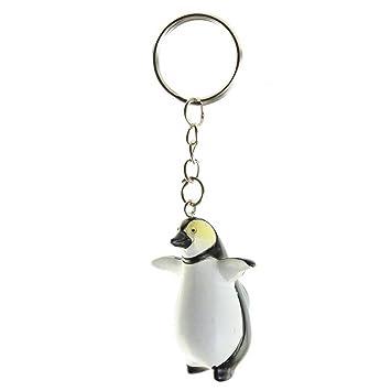 Llavero Resina en forma de Pingüino: Amazon.es: Juguetes y ...