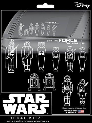 CHROMA 45020 Star Wars Family 11 Piece Decal Kit
