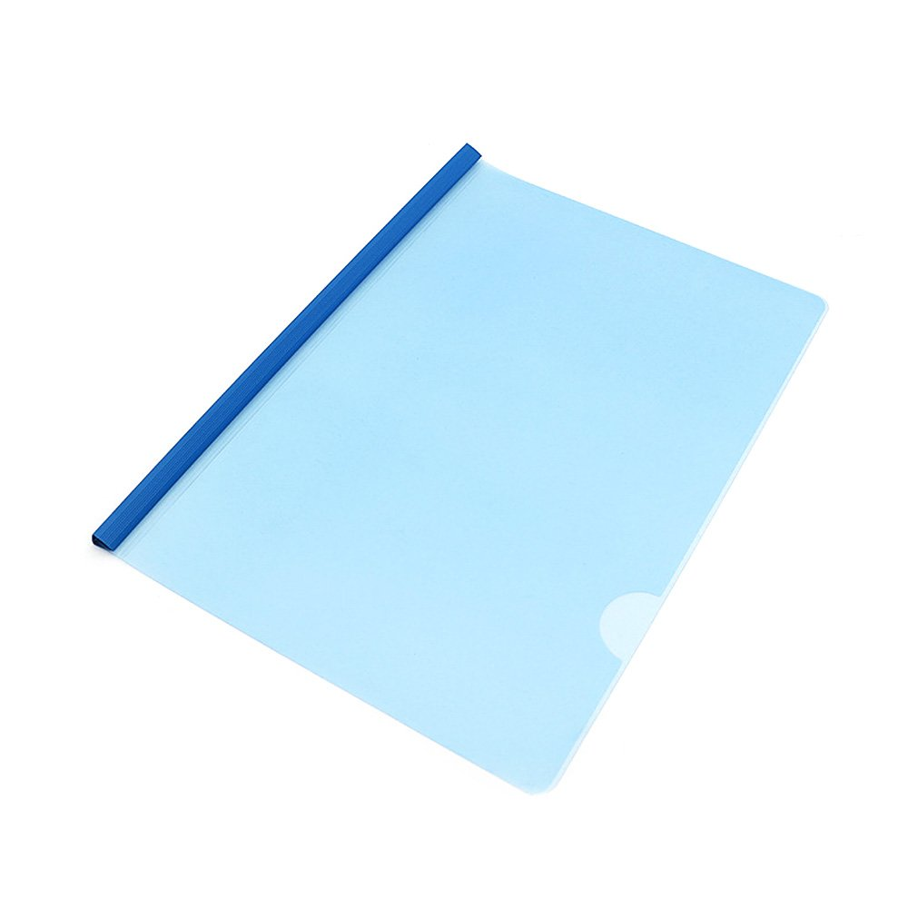 A4 Folder PP Report Cover and Spine Bar Documents Filling Bag Report Cover Office School Supplies(12pcs/Set)