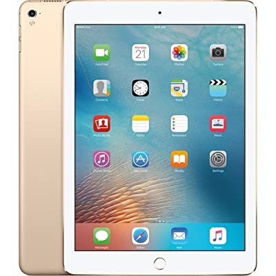 2017 Model Apple iPad 9.7-Inch Retina Display, 128GB, WIFI, Bluetooth, Touch ID, Apple Pay, Siri, GPS Enabled, FaceTime HD Camera, Gold from Apple Computer