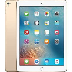 "New Apple iPad 9.7"" Retina Display, 32GB, WIFI, Bluetooth, Touch ID, Apple Pay, Siri, Mobile Hotspot Capability, Video Recording Capability, GPS Enabled, 2017 Model, Gold"