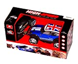 cool 999 - Big-Daddy Super Cool Series Extra Fast RC Remote Control Mountin Jeep With British Flag On Roof (colours may very Blue/red)