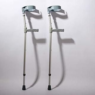 Zhen Lin Muletas De Aleación De Aluminio Codo-Brazo Muletas Pierna Caída Lesiones Suministros Entrenamiento De Rehabilitación