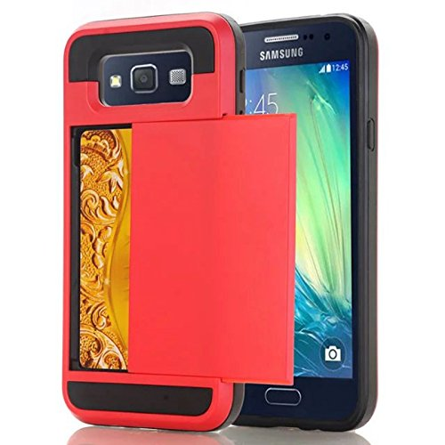 Slim Shockproof Case for Samsung Galaxy E7 (Red) - 3