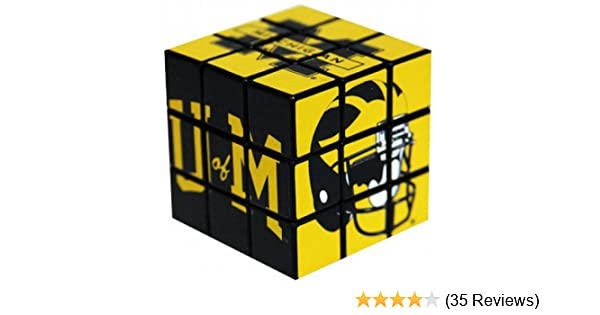 NCAA Michigan Wolverines Toy Puzzle Cube