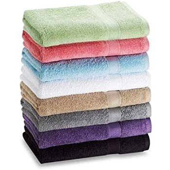 "6-pack: 27"" X 52"" 100% Cotton Extra-absorbent Bath Towels"