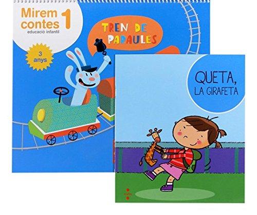 Mirem contes 1. Educació infantil, 3 anys. Tren de paraules - 9788466134231 por Equip Editorial Cruïlla,,Fransoy Bel, Montserrat,Mondragón Gutiérrez, Montserrat
