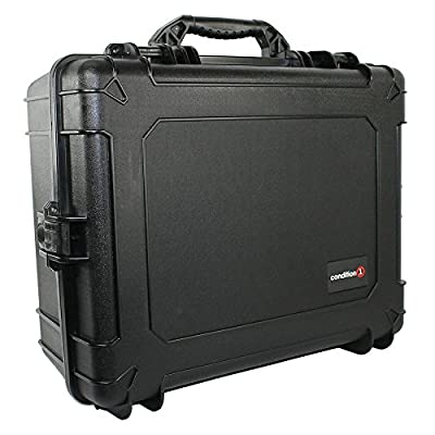 Image of Condition 1 25' XL #289 Black Waterproof Hard Case Trunk with DIY Customizable Foam Dry Boxes