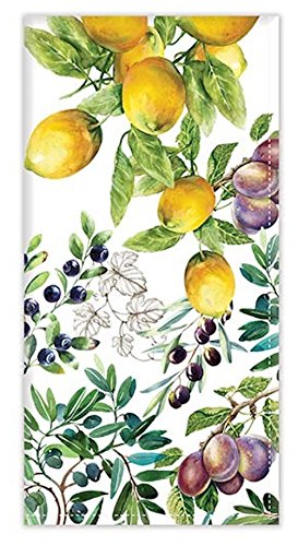 Michel Design Works Turkish Cotton Napkins, Set of 4, Tuscan Grove