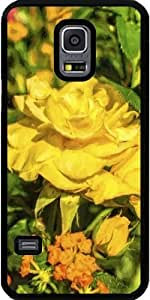 Case for Samsung Galaxy S5 Mini - Yellow Rose 01 by ruishername